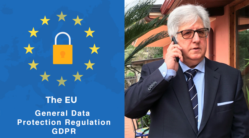 GDPR general data protection regulation - Michele Cappadona presidente Agci Sicilia